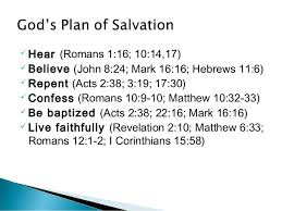 plan for salvation