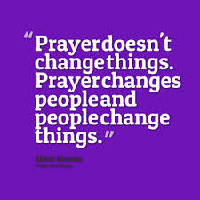 prayer changes