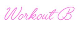 WorkoutB
